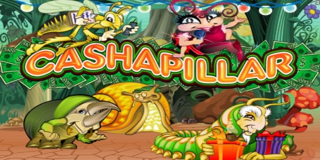 Slot machine Cashapillar online