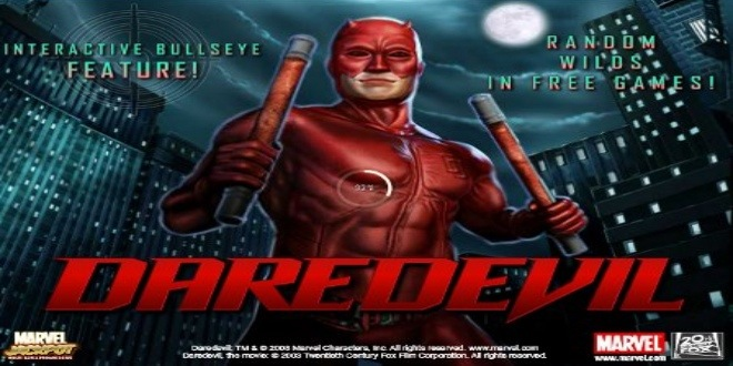 Slot machine Daredevil online