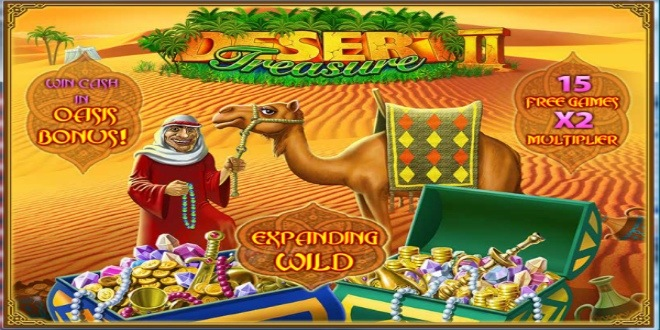 Slot machine Desert Treasure online