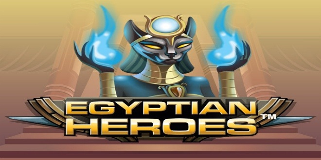 Slot machine Egyptian Heroes online