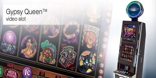 Slot machine Gypsy Queen online