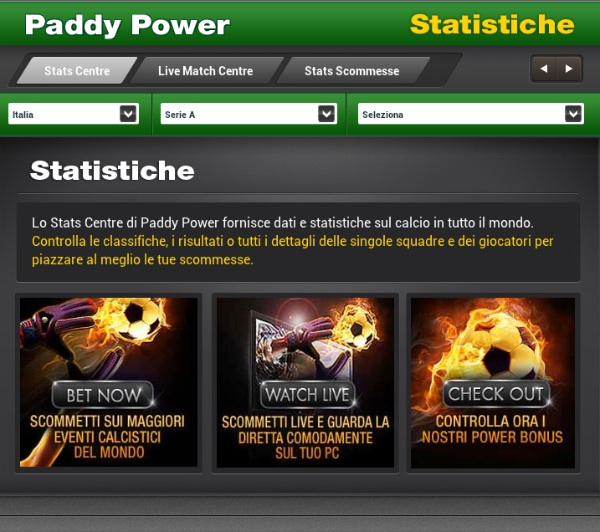 Paddy Power Casinò AAMS