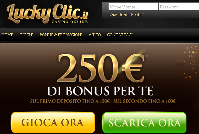 LuckyClic Casinò AAMS