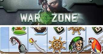Loghi Slot dei Pirati e Warzone