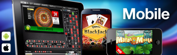 Winga casino mobile
