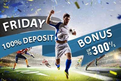 bet2u bonus deposito venerdì