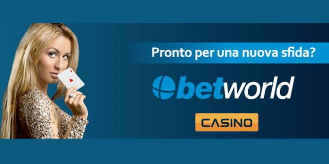 betworld casino recensione
