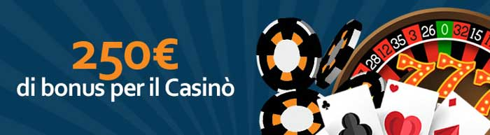 bonus ricarica casino betworld