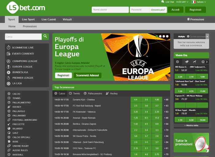lsbet screenshot