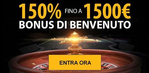 enzo casino bonus benvenuto