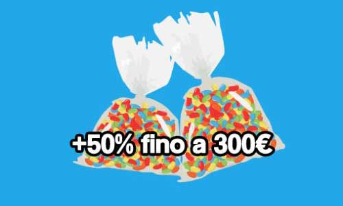 bonus secondo deposito jellybean