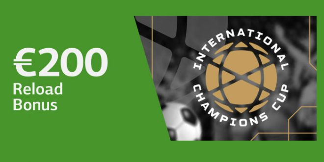 200 euro bonus Lsbet International Champions Cup