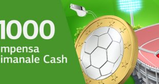 LsBet: pazzo cashback lunedì fino a 1000 euro