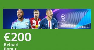 ricarica 200 euro champions lsbet
