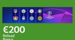 Bonus Champions fino a 200€ da LsBet