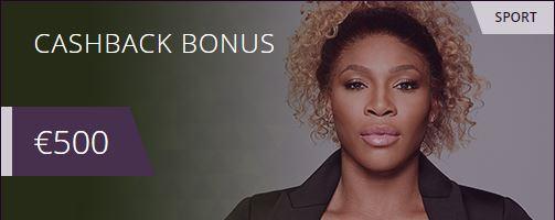Malina sports cashback bonus