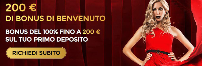 unique casino bonus senza deposito