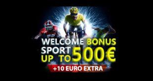 Nuovo bonus scommesse Betn1 fino a 500 euro + 10 euro free!