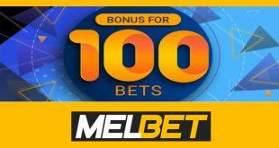 Nuovo Bonus 100 bets da Melbet