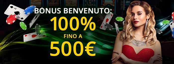 1bet casino bonus