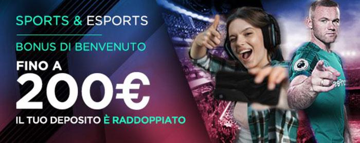 cbet bonus benvenuto 200 euro