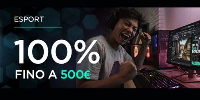 CBet presenta il nuovo bonus eSports fino a 500€