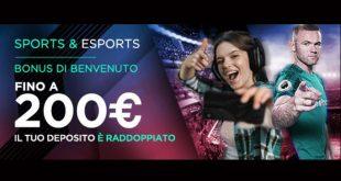CBet aggiorna il bonus scommesse a 200€ con rollover 5X
