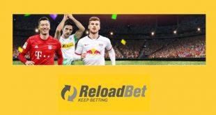 Reloadbet offre un bonus ricarica di 200€ sulla Bundesliga