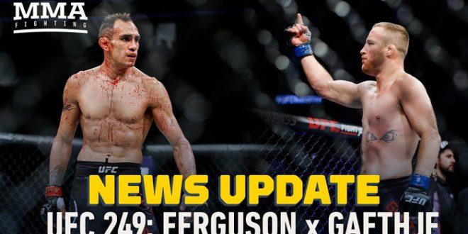 UFC: Tony Ferguson VS Justin Gaethje10/05/2020