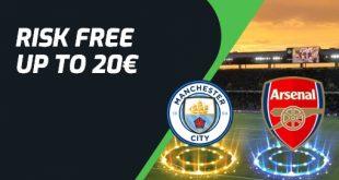 Promo Evobet: scommetti su Manchester City vs Arsenal
