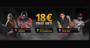 18Bet: perdi e vieni rimborsato fino a 18€