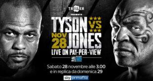 tyson torna sul ring il 29 novembre contro jones jr
